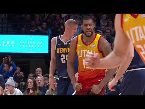 Utah Jazz vs Denver Nuggets | February 28, 2019