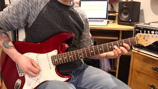 'overrated' demonstration - rock school guitar grade 3