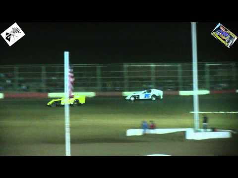 Canyon Speedway Park  - Modified B-Main #2 January 24th 2015