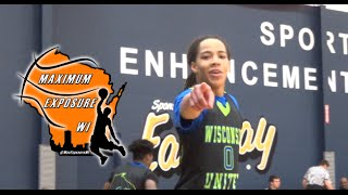 Underrated 2017 point guard virshon cotton has game!!!!