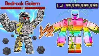 Bedrock Golem Vs. Spectrite Golem in Minecraft