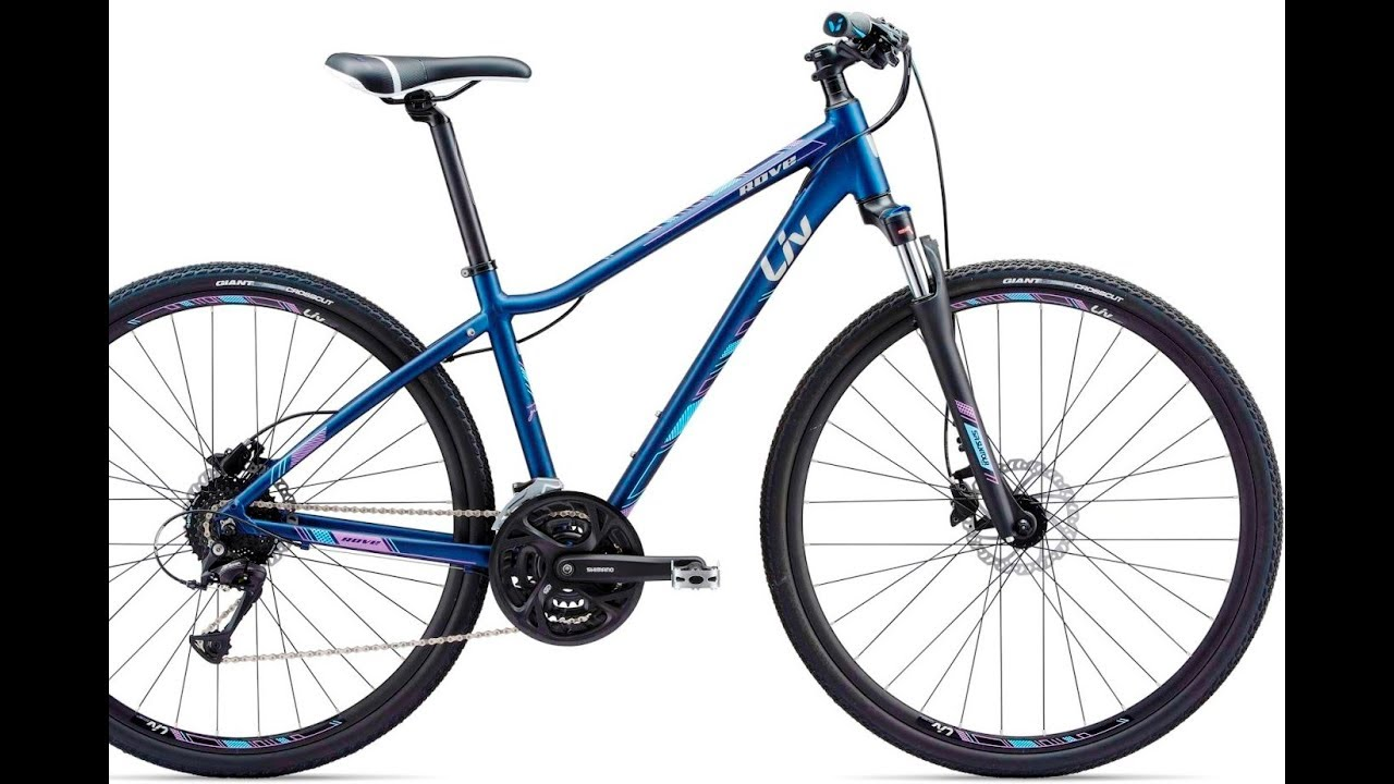 2018 Liv Rove 2 Ladies Hybrid Bike