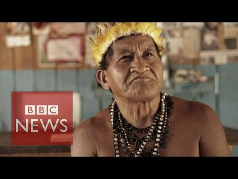 Amazon tribe fights Brazil dam project - BBC News