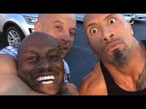 Tyrese Gibson Declares He's Out of 'Fast 9' If Dwayne 'The Rock' Johnson 'Is In'