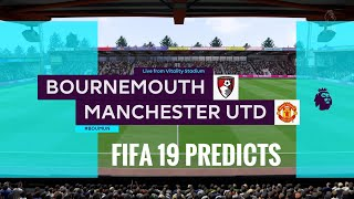 Bournemouth vs Manchester united premier league prediction matchweek 11