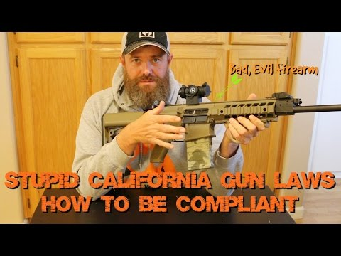 Being Compliant with California Gun Laws