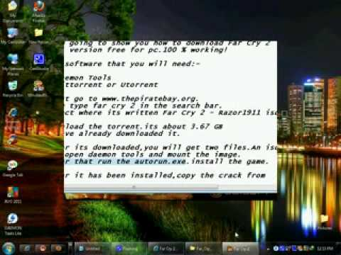 How to download and Install far cry 2 for pc (torrent) flv