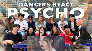 Gambar cover Cypher Dance Crew Reacts to RED VELVET (레드벨벳) - 'PSYCHO' MV | Melbourne, Australia