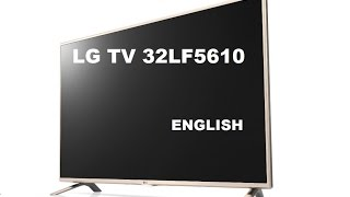 unboxing lg led tv 32lf5610 and small review eng