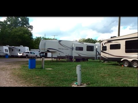 Tom Raper RV Campgrounds at the Indiana State Fairgrounds Indianapolis Indiana