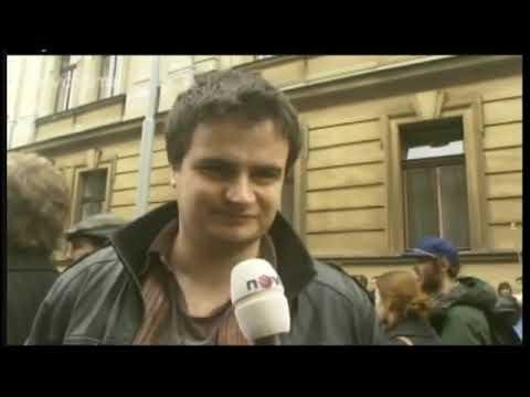 Zmanipulované zprávy o protestech na Nově