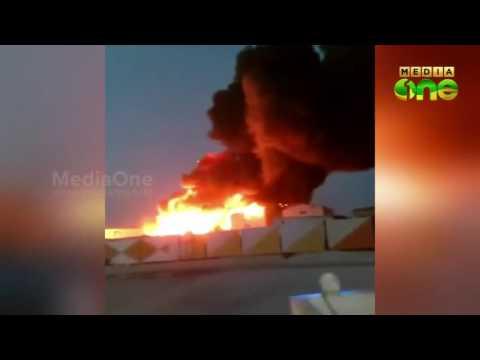 Qatar labour camp fire: Investigation begins