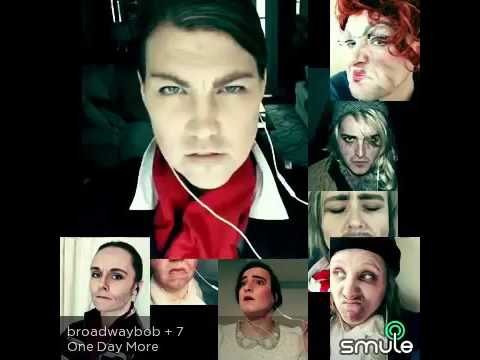 "Smule Les Miserables ""one day more"" gender bend karaoke"