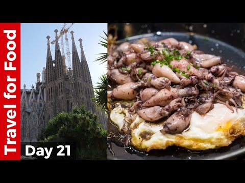 Barcelona Food Tour at LA BOQUERIA and Sagrada Familia - Barcelona, Spain, Travel Guide!