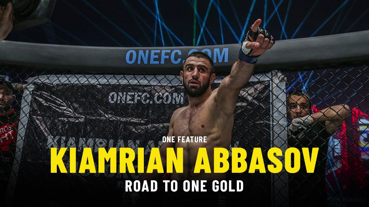 Kiamrian Abbasov's Road To ONE Gold   ONE Feature