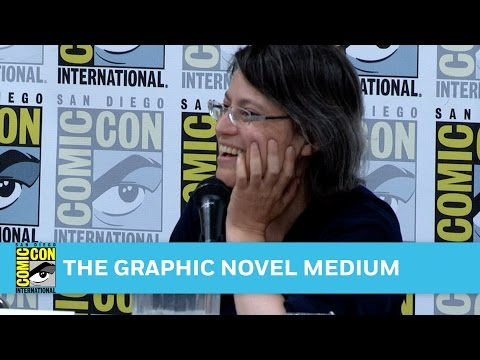 The Graphic Novel Medium Full Panel | San Diego Comic-Con 20