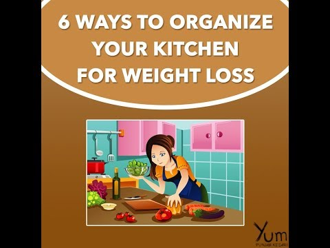 6 Ways to Organize Your kitchen for Weight Loss