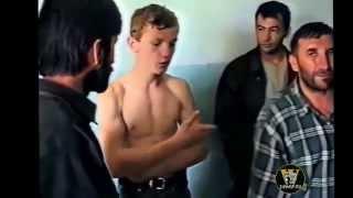 Дагестан. Пленные чеченцы 1999г.