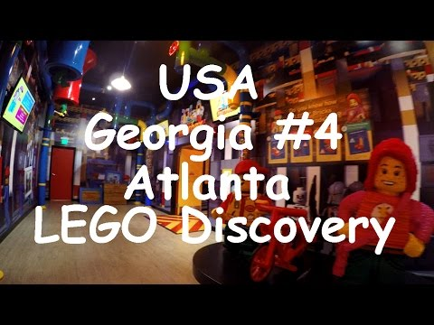USA Georgia #4. LEGOLAND Discovery Center. Atlanta. 4K.