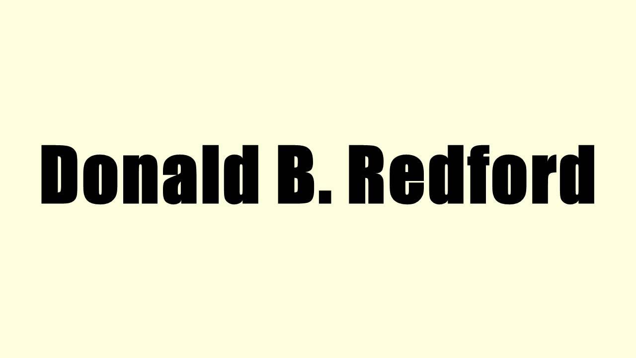 Donald B Redford - Alchetron, The Free Social Encyclopedia