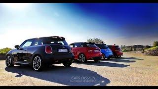 best sound exhaust sport cars abarth 208 gti mini jcw audi s1