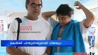 Thalaivasal Vijay, actor supporting  daughter Jayaveena: Chuttuvattom 22nd Nov 2013 ചുറ്റുവട്ടം