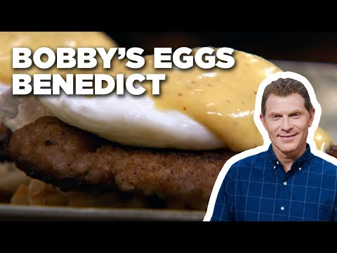 Bobby Flay Makes Eggs Benedict | Food Network