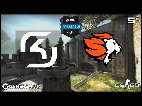 ESL Pro League S5 - SK Gaming vs. Selfless (Cbble) - Narração PT-BR