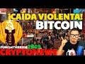 ¡BITCOIN CAÍDA VIOLENTA! 😱 /CRYPTONEWS 2019