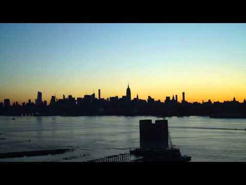Timelapse Sunrise NYC Manhattan Skyline