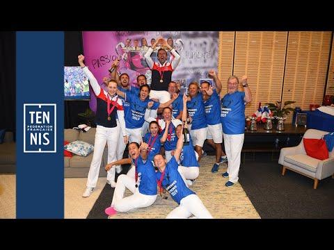 Finale Fed Cup : minute bleue n°10  | FFT