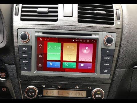 Штатная магнитола Toyota Avensis (2008-2015) 8 Core Android W2-V5585