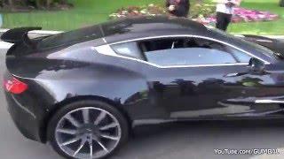 Aston Martin ONE-77 - Бешеная езда в Монако!
