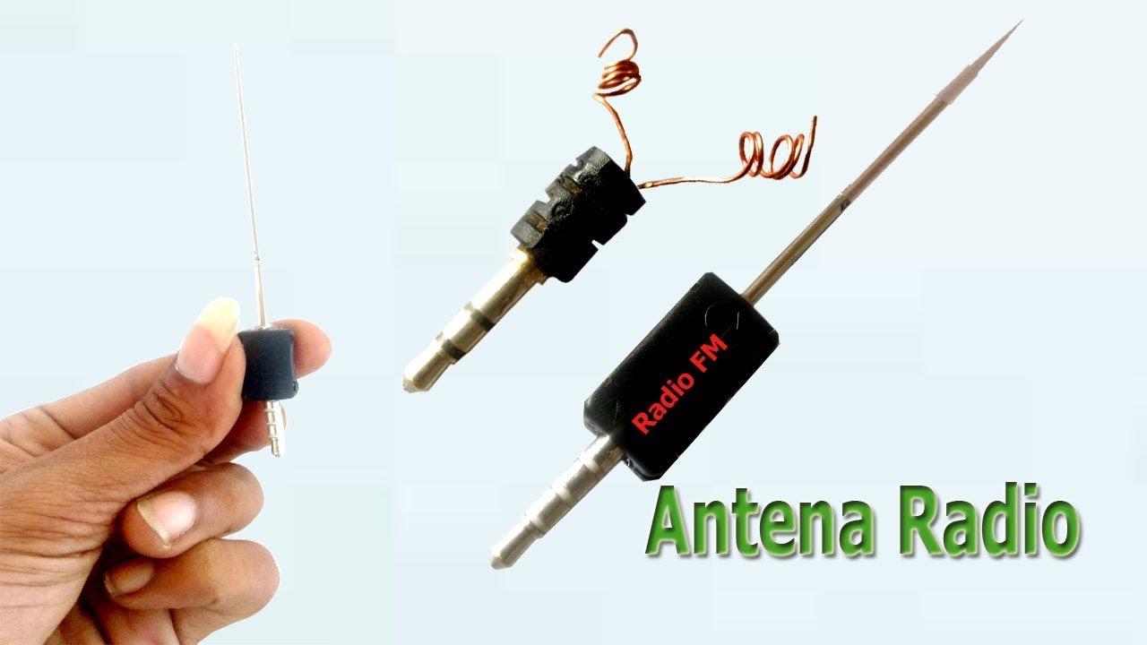 Cara Membuat Antena Radio Hp Youtube