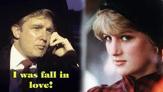 REAVEALS : Donald Trump had courted Princess Diana