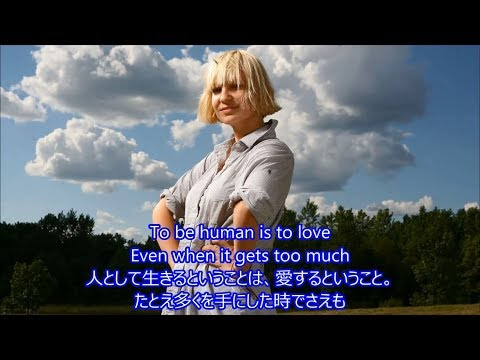 洋楽 和訳 Sia - To Be Human feat.Labrinth
