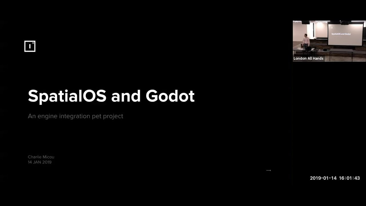 Godot, SpatialOS and engine integration - Improbable