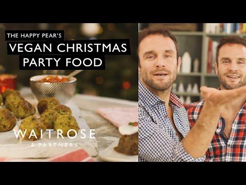 The Happy Pears Vegan Christmas Party Food Waitrose Partners