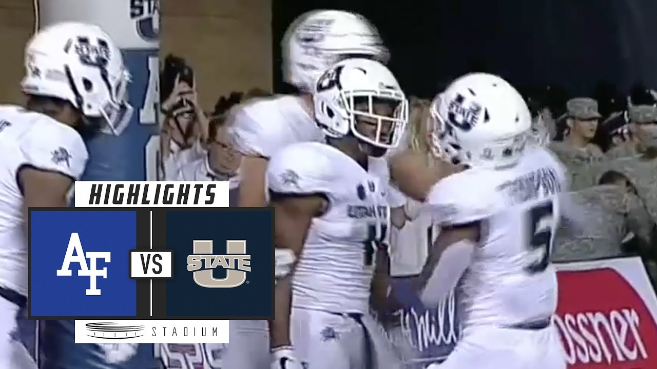 Air Force vs Utah State Football Highlights (2018 ...