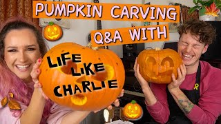 PUMPKIN CARVING Q&A with Life Like Charlie