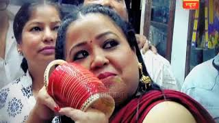 Bharti Singh and Haarsh Limbachiyaa visit Golden temple, Amritsar with SBS