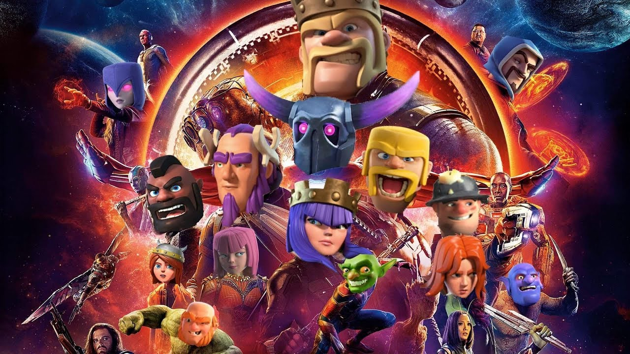 Rei bárbaro clash of clans, png download infinity gauntlet toy.