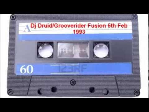 Dj Druid and Grooverider @ Fusion 5th Feb 1993 Portsmouth's Guildhall