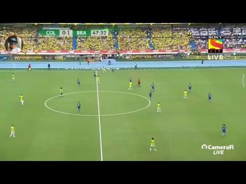 brazil vs Colombia match 2017
