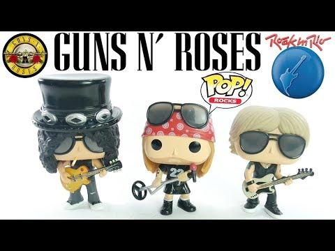 Especial Rock in Rio 2017: Guns N' Roses Funko POP Review coleção POP Rocks - brinquedo boneco