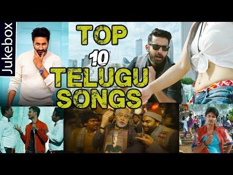 Top 10 Telugu Movie Hit Songs  Jukebox 2018  Volga s