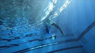 수원 프리다이빙(freediving) - 수중연기 : 김희주 강사님