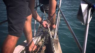 How to anchor a yacht in coral waters - Yachting World Bluewater Sailing Series