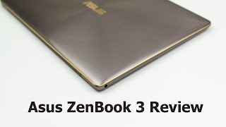 asus ZenBook 3 UX390UA Review  Better than the MacBook?