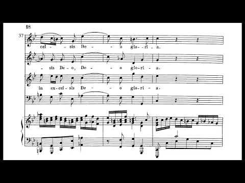 Bach - Mass in G minor, BWV 235 (score)